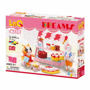 "LaQ ""Sweet Collection ""Dreams"" konstruktorių rinkinys, 5+"